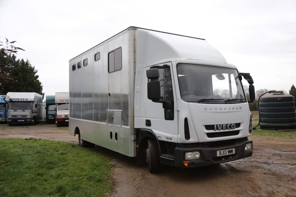 NEW PEPER HAROW HORSE BOX BUILT 7.5 TONNE CONVERSION ON A 2013 CHASSIS STILL IN BUILD STAGE