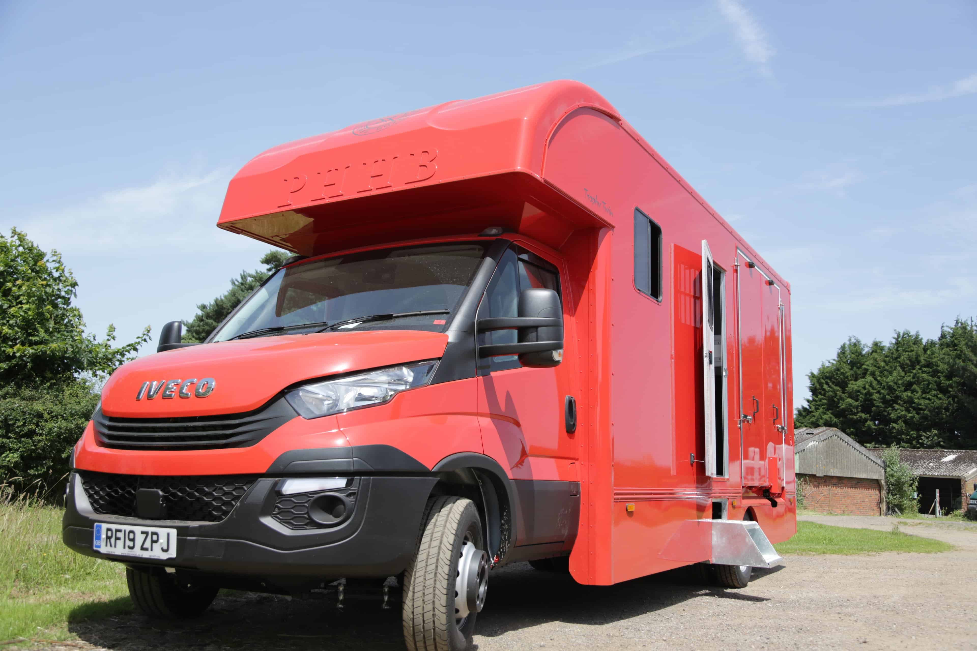 NEW COACH BUILT TROPHY TWIN - Sought after Peper Harow coach built horse box available on a short or long wheel base