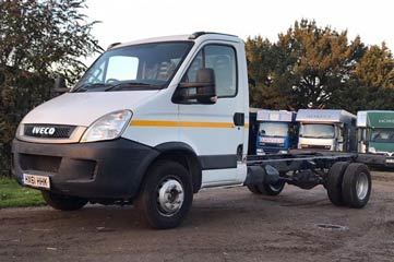 2011 IVECO CHASSIS FOR A 6.5 TONNE / TROPHY TWIN BUILD